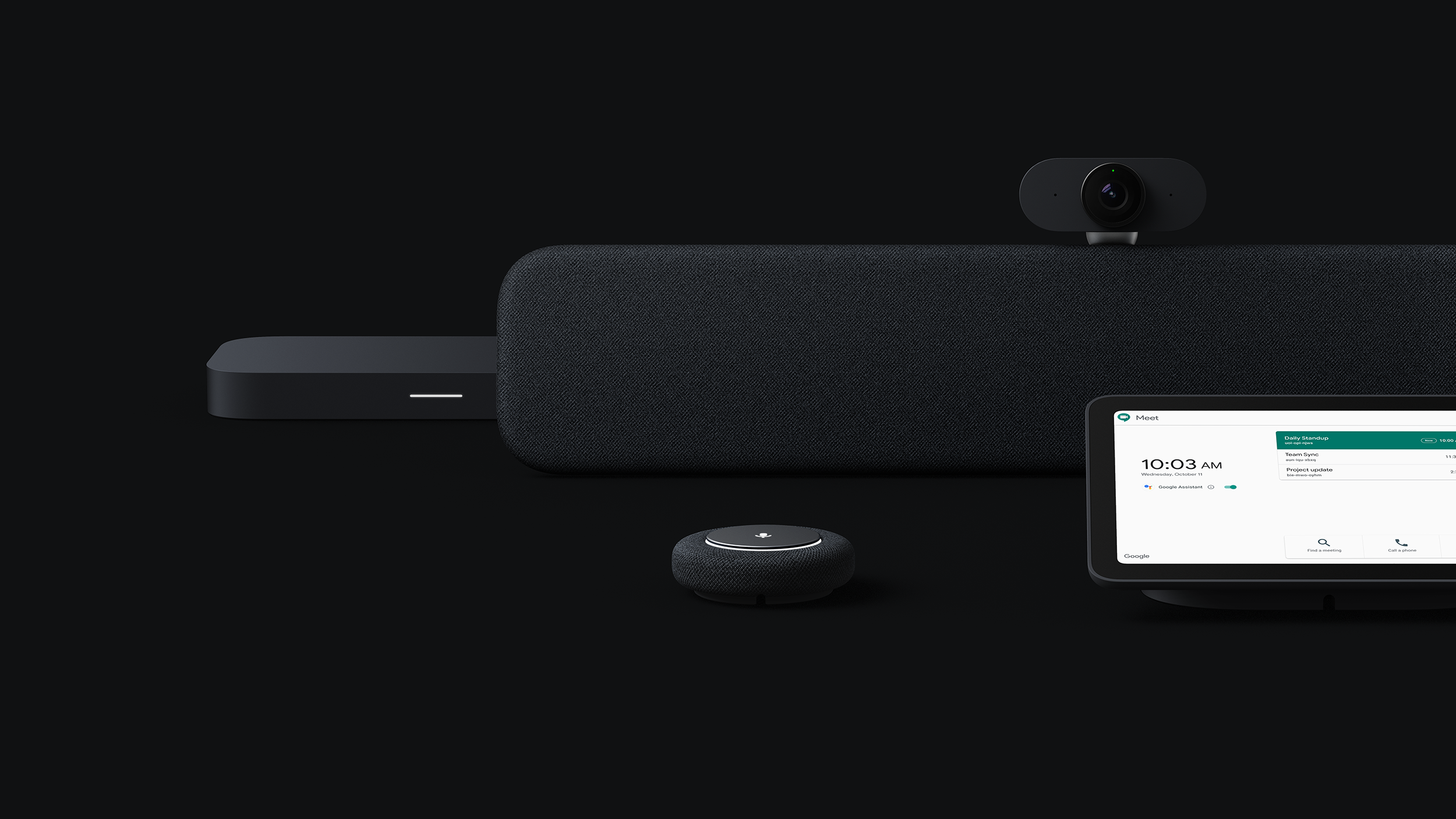 """Dezeen – Video conferencing with Aruliden's Google Meet Series One is """"as close as possible to being in the same room"""""""