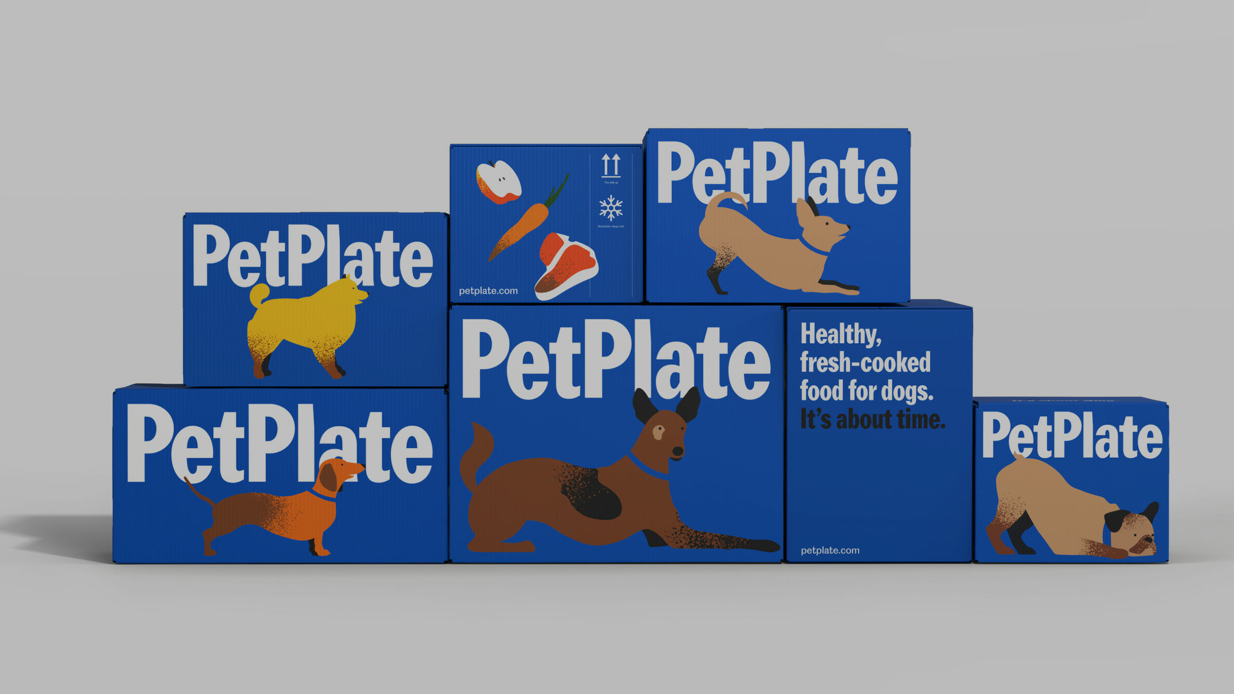 The Dieline – PetPlate: The Pet Food Revolution Continues